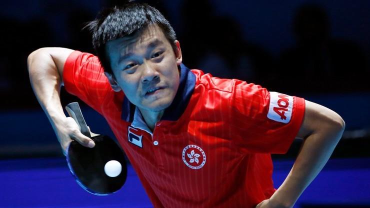 Porażka Penga w pingpongowym meczu Azji z Europą