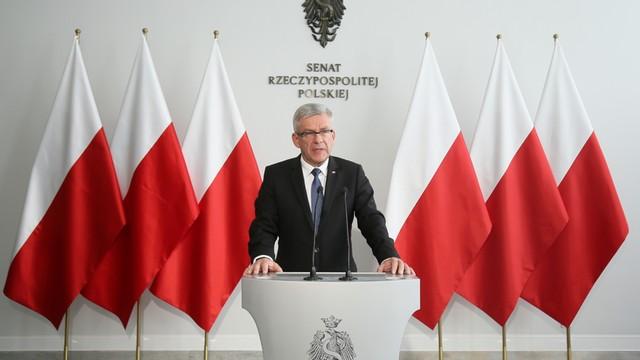 Marszałek Senatu spotkał się ze swoimi odpowiednikami z Francji i Niemiec