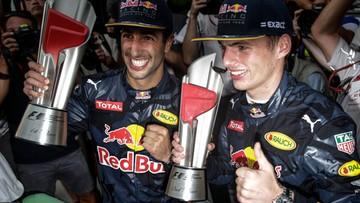 02-10-2016 15:07 Hamilton zawiedziony, Ricciardo szczęśliwy po Grand Prix Malezji