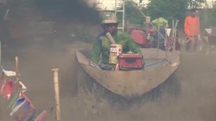 Szybki jak... traktor - w Tajlandii rolnicy rywalizowali na swoich maszynach