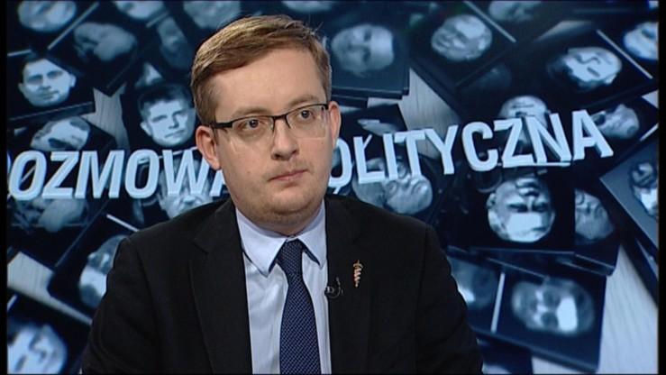 """""""To prawdopodobnie była flaga Śląska Opolskiego"""" - Winnicki o spaleniu flagi podczas Marszu Niepodległości"""