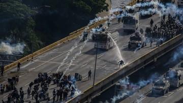 29-05-2017 05:39 Wenezuela: już 60 ofiar starć przeciwników rządu z policją