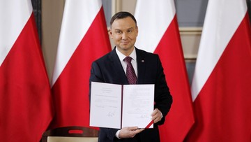 04-04-2017 14:24 Prezydent podpisał ustawę metropolitalną dla woj. śląskiego
