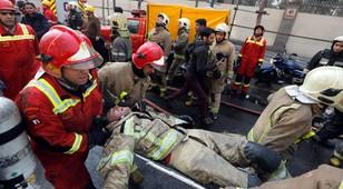 Iran: 30 strażaków zginęło na skutek zawalenia się wieżowca