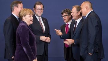 17-12-2015 17:26 Premier na szczycie w Brukseli: główne tematy to imigranci, granice i Wlk. Brytania