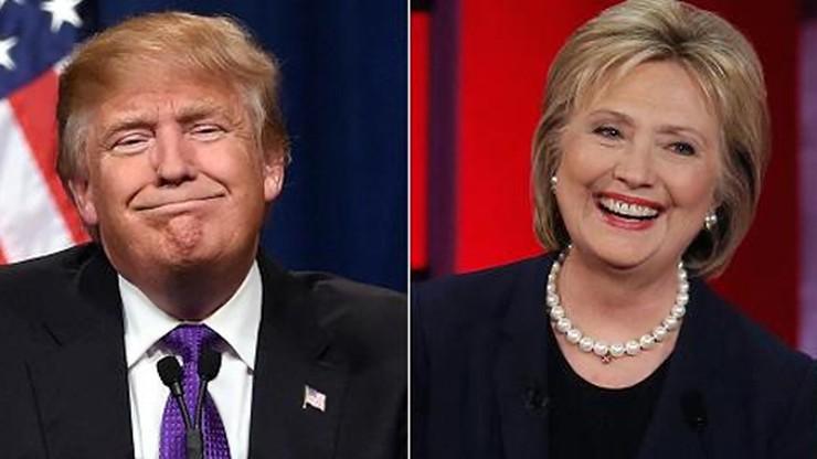 """Amerykanie podzieleni - """"dynamiczny biznesmen"""" albo """"doświadczona polityk"""""""