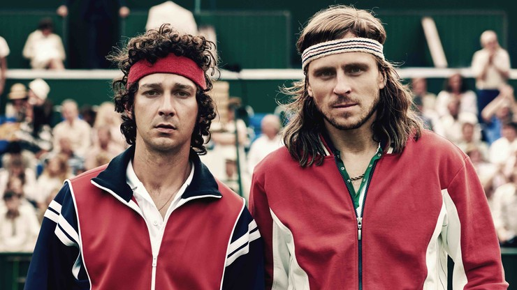 2017-10-26 Borg/McEnroe. Film o legendach tenisa na ekranach polskich kin