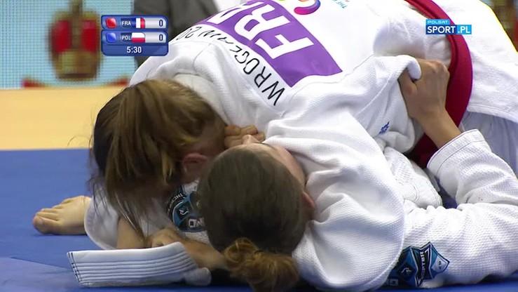 Ju-jitsu: Maćkowiak wywalczyła brąz w kategorii open!