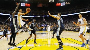 2017-01-07 NBA: Warriors nie sprostali Grizzlies