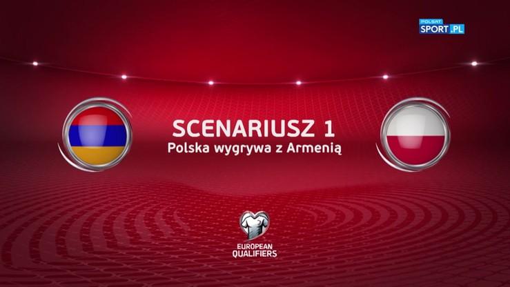 Możliwe scenariusze meczu Armenia - Polska. Co musimy zrobić, żeby awansować?