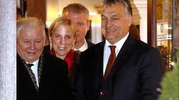 2016-12-09 Spotkanie Orban - Kaczyński. W jednej z krakowskich restauracji