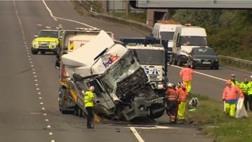 Polski kierowca z zarzutami za spowodowanie wypadku w Anglii. Zginęło osiem osób