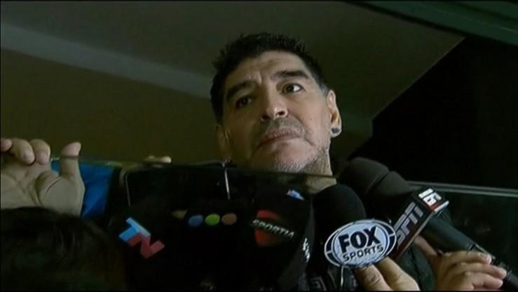 """Maradona opłakuje Castro. """"On był moim drugim ojcem"""""""