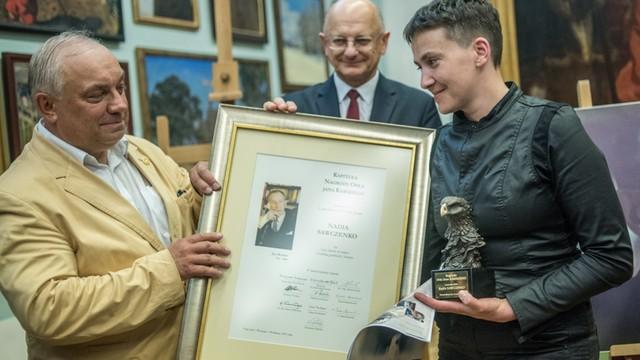 Sawczenko otrzymała nagrodę Orła Jana Karskiego