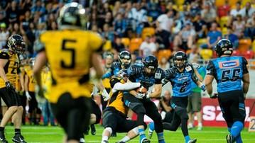 2017-06-25 Superfinał: Seahawks Gdynia - Panthers Wrocław. Transmisja w Polsacie Sport