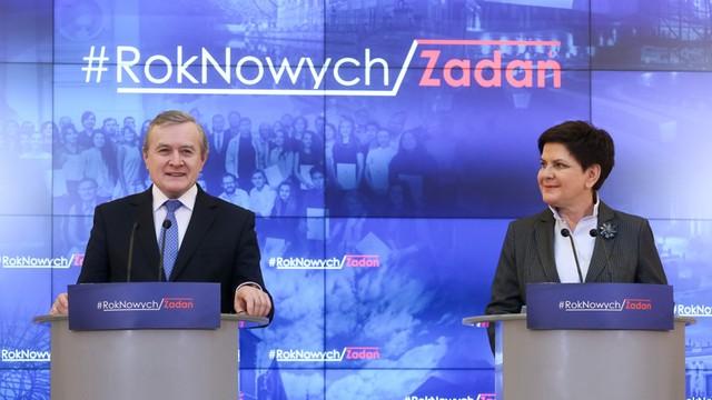 Premier Szydło podsumowała działalność resortu Glińskiego: bardzo aktywnie prowadzi politykę