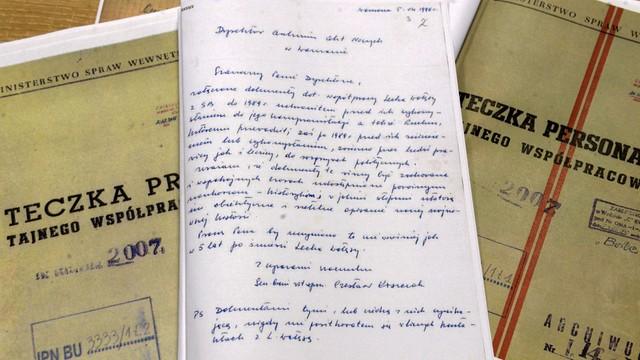 Celiński pozywa IPN - chodzi o list do Kiszczaka