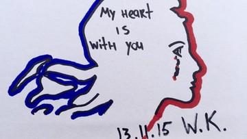 14-11-2015 15:59 Sportowcy łączą się z Francuzami po zamachach