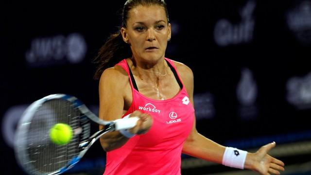 Radwańska w półfinale turnieju WTA w Shenzen