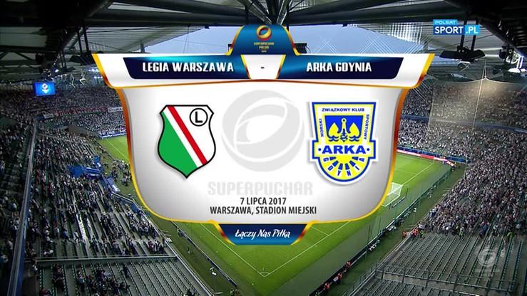 Superpuchar Polski: Legia - Arka 1:1. Skrót meczu
