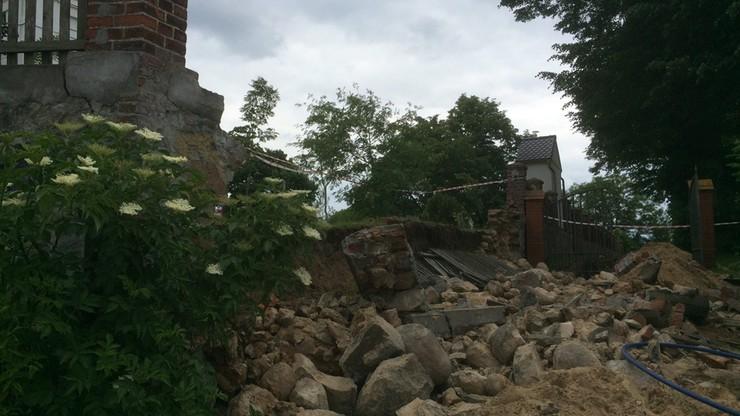 Tragedia na cmentarzu. Pracownika przygniótł mur. Mężczyzna zmarł