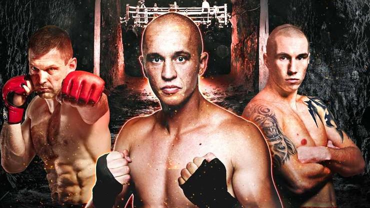 Oficjalny plakat gali Underground Boxing Show w Wieliczce