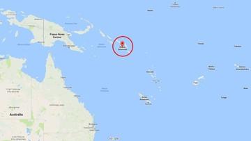 20-01-2017 09:45 Silne trzęsienie ziemi na Pacyfiku. Epicentrum na Wyspach Salomona
