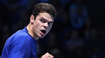 2016-11-13 ATP World Tour Finals: Raonic pokonał Monfilsa