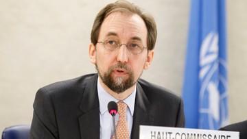 13-06-2016 14:44 Komisarz ONZ ds. praw człowieka potępia zatrzymywanie migrantów w Europie