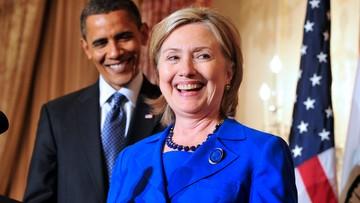 09-06-2016 21:14 Obama poparł Clinton w wyścigu do Białego Domu
