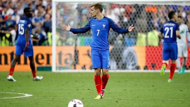 ME 2016 - Antoine Griezmann najlepszym piłkarzem turnieju