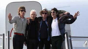 25-03-2016 10:16 Stonesi przylecieli na Kubę. Zagrają koncert w piątek wieczorem
