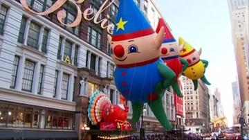 Wielka parada z okazji Święta Dziękczynienia w Nowym Jorku
