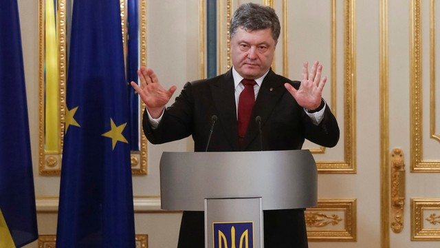 Poroszenko: Odzyskanie Krymu najważniejszym zadaniem 2016 r.