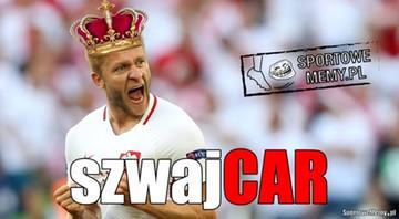 """25-06-2016 22:05 """"Przybyłem, zobaczyłem, no i 1/4"""". Memy po meczu Szwajcaria - Polska"""
