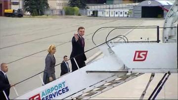 08-05-2016 16:55 Prezydent Duda udaje się z wizytą do Kanady