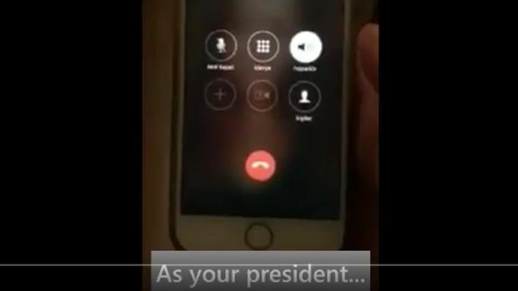 Przed sygnałem oczekiwania… Erdogan. Głos prezydenta w telefonie