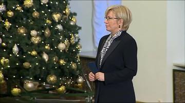 Julia Przyłębska zaprzysiężona na sędziego TK
