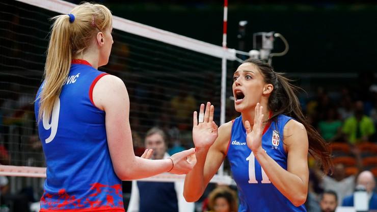 ME siatkarek: Serbia ograła Białoruś w ćwierćfinale