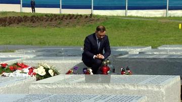 """11-07-2016 10:45 Prezydent oddał hołd ofiarom zbrodni wołyńskiej. """"Pewne rzeczy muszą być przyznane"""""""