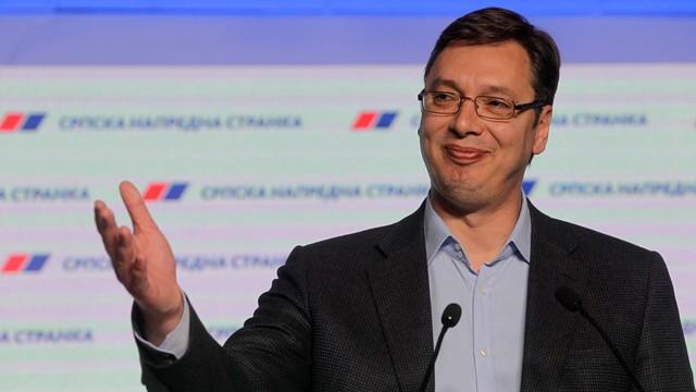Serbia: zdecydowana wygrana w wyborach partii premiera Vuczicia
