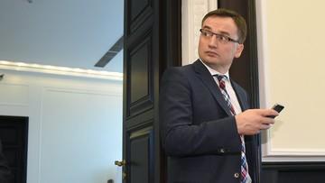 """06-09-2016 20:49 Wniosek o wygaszenie mandatu poselskiego Ziobry. """"Nie można być posłem i prokuratorem"""""""