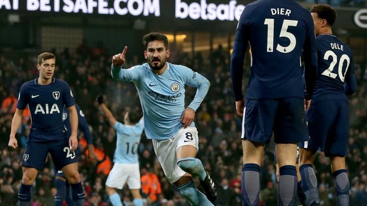 Czy ktoś zatrzyma Manchester City? Tym razem poległ Tottenham...
