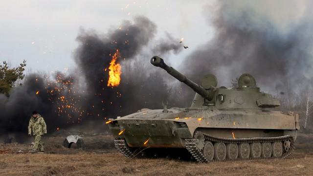 Ukraina. OBWE: separatyści gromadzą zakazane uzbrojenie, w tym czołgi
