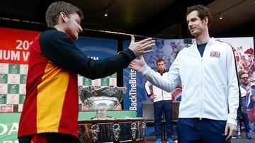 2015-11-27 Puchar Davisa: Remis po pierwszym dniu finału w Gandawie