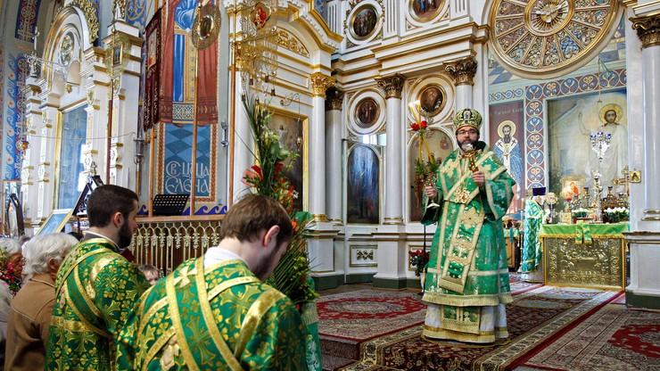 Prawosławni świętują Niedzielę Palmową. Palmy święcono w cerkwiach już w sobotę wieczorem