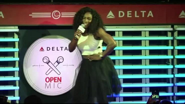 Serena jako syrena. Zobacz wokalne popisy Williams