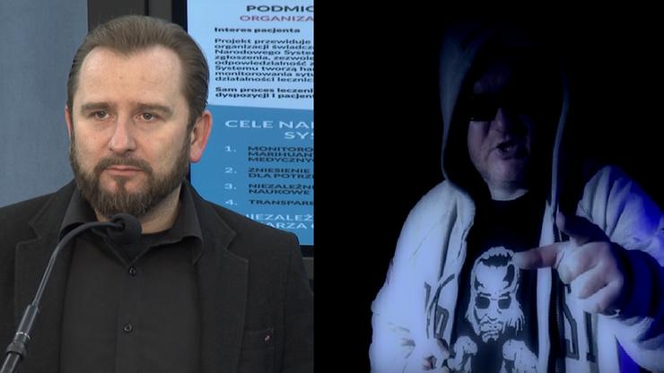 """Raper GISu, czyli Główny Inspektor Sanitarny rapuje do Liroya: """"zaszczep, zaszczep swoje dzieci"""""""