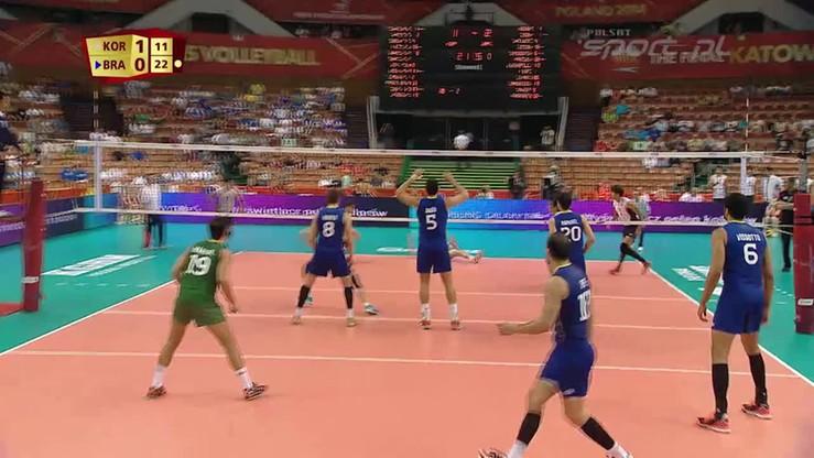 Brazylia - Korea Płd. 3:2. Skrót meczu
