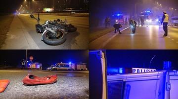 27-09-2016 12:37 Wejherowo: motocyklista potrącił pieszą. Oboje nie żyją